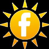 Facebook Sun Logo
