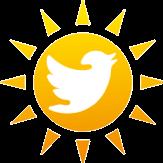 Twitter sun Logo